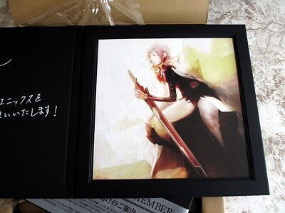 Final Fantasy Japan Ultimate Member Limited Plate XIII Lightning Returns