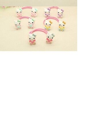 Hello Kitty Hair Accessories Various Colours per pair Kids  Hello Kitty Hair Tie