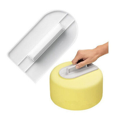Cake Smoother Polisher Tools Cutter Fondant Sugarcraft Icing Decorating Mold