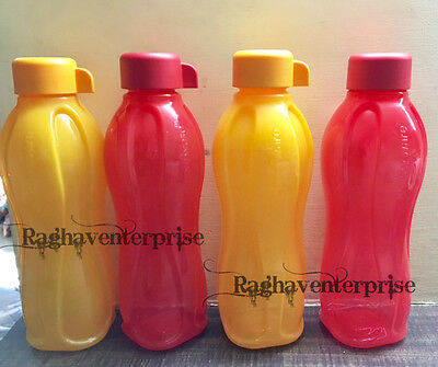 Tupperware Eco Sports Water Bottle- 500ml (Set Of -4) - FREE SHIPPING