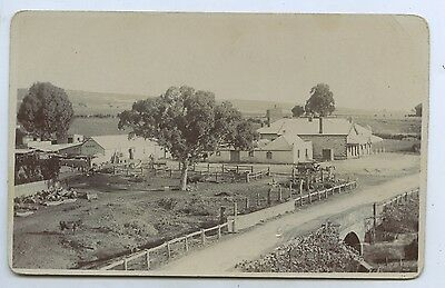 1909 Rp Npu Postcard New Old Spot Hotel North Of Adelaide Sa Marchant Photo K92