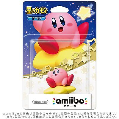 NEW Nintendo 3DS Wii U Amiibo Kirby Kirby Series Japan Import Official F/S