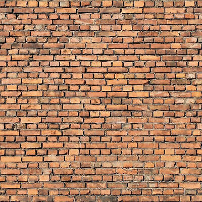196Mm X 270Mm O S Gauge/scale Brick Wall Self Adhesive Paper Sheets