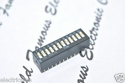 1pcs - CTS 208-12 T140 12-Way/Position DIP-24 IC Switch