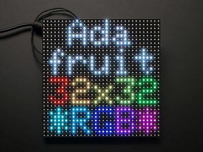 Adafruit 32x32 RGB LED Matrix Panel - 6mm pitch [ADA1484]