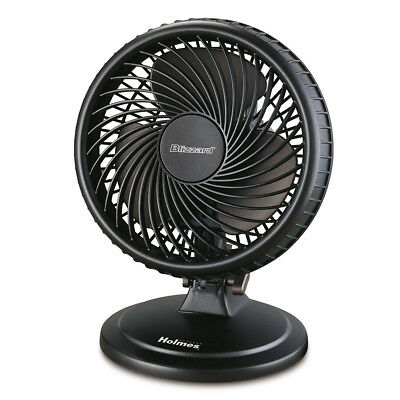 Holmes® Table Fan, Black HAOF87BLZ-UC
