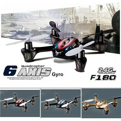 2017 NEW FASTER Hubsan X4 Copy 2.4GHz RC Drone Quadcopter Awesome DFD F180 Red