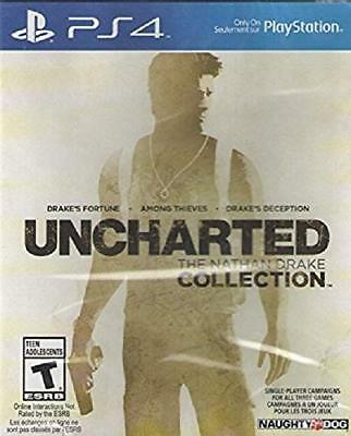 Uncharted The Nathan Drake Collection PS4 NEW DISPATCH TODAY ALL ORDERS BY 2 P.M