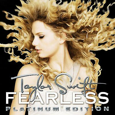 TAYLOR SWIFT : FEARLESS  - PLATINUM EDITION  (Double Vinyl) sealed