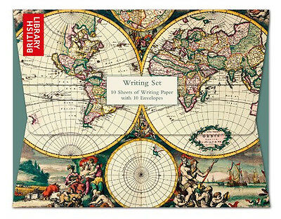 Museums & Galleries - Four Hemisphere World Map Writing Set