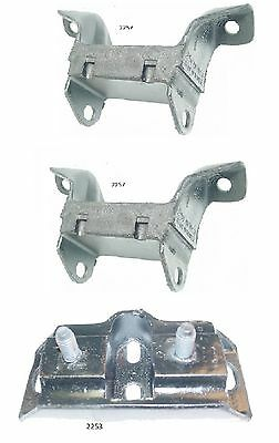 3 PCS Motor and Transmission Mount Kit for Mustang 302 Engine 68-73