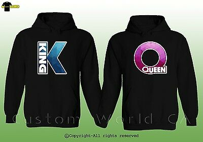 Couple Hoodie - King And Queen - His And Hers New Design Couple Clothes