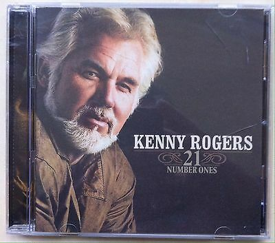 Kenny Rogers - 21 Number Ones (CD, Jan-2006, Capitol)