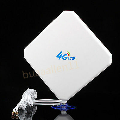 Antenne 35DBI 3G 4G LTE TS9 For HUAWEI E398 E5375 E5786 E8278 E630 2M Câble Base