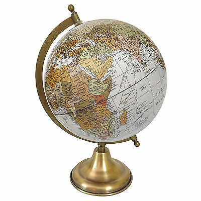 Rotating Globe World Geography Earth Big Decorative Ocean Office Table De 5498
