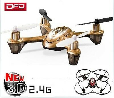 Hubsan X4 Copy 2.4GHz RC Drone Quadcopter Awesome DFD F180 Gold NEW FASTER