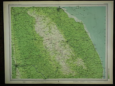 1903 Map ~ Lincoln Louth Great Grimsby Horncastle Brigg & Villages