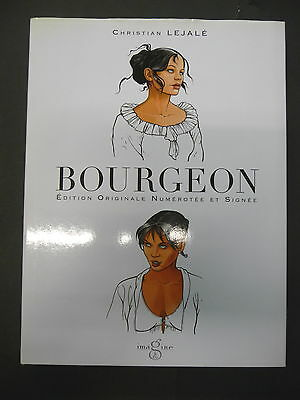 bourgeon christian lajalé edition originale numerote 56 / 799 et signe + dvd