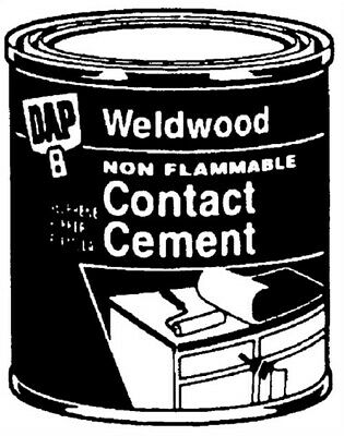 Weldwood Nonflammable Contact Cement by Dap Inc