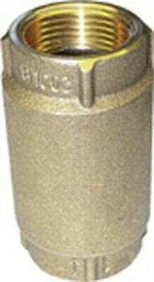 "Check Valve 1 1/4""Ips Brass Nl by MERRILL MANUFACTURING"