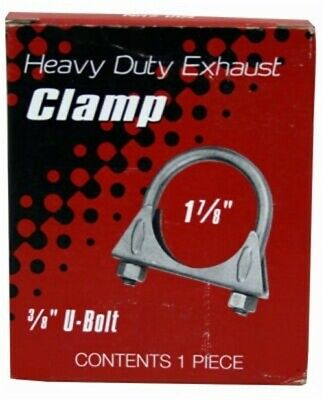 "Warren #NIC00023 1-7/8"" Heavy Duty Muffler Clamp by Warren Distribution"