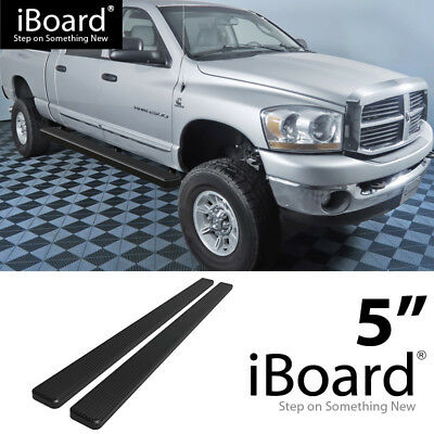 Nerf Bars & Running Boards Running Board Side Step 6in Black Fit ...