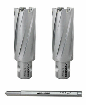 """1-1/16x2"""" Carbide Tipped Annular Cutters w/ 1-Touch Shank w/ a Pin #3081-2022PIN"""