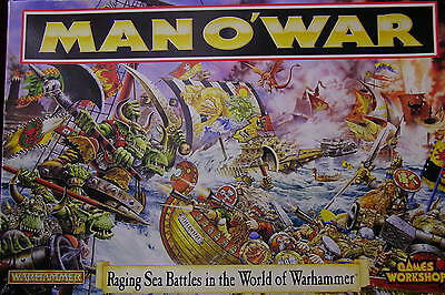 Games Workshop ,    Man-O-War  #1  ,   Unpunched