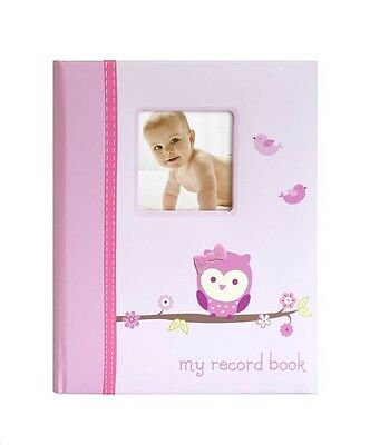 New Pearhead Little Blossoms Who's Cute Pink Baby Memory Book
