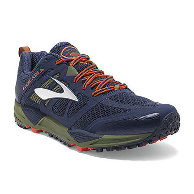 Brooks Cascadia 11 Mens Trail Running Shoes 1102131D440 + Return To Sydney