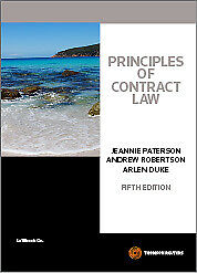 Principles of Contract Law 5th ed