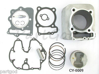 For Honda Sportrax TRX400EX Cylinder Piston Gasket Top End Kit 1999-2008  eaa