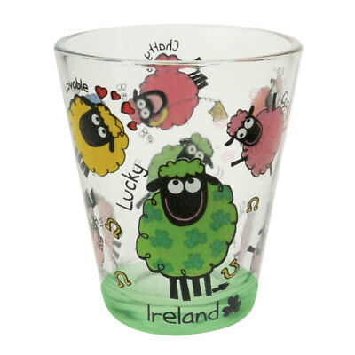 Loose Shot Glass With Wacky Woolies Design