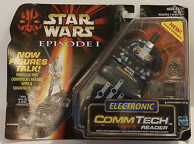 1998 Hasbro Star Wars Episode I Electronic Commtech Reader 84151 China - New