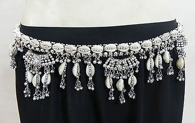 Kuchi Tribal Cowrie Shell Belt Belly Dance Hip Skrit Jewelry India Banjara Gypsy