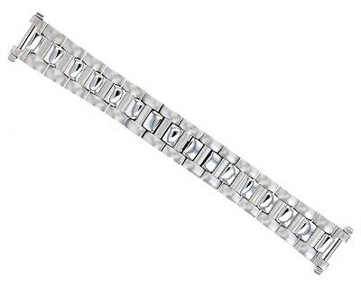 20Mm Watch Band For 38Mm Cartier De Pasha 1352 , 2378, 2388 Solid Steel Brushed