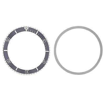Bezel & Insert For Rolex  Submariner Vintage 1655, 5508, 5512, 5513, 1680 Grey