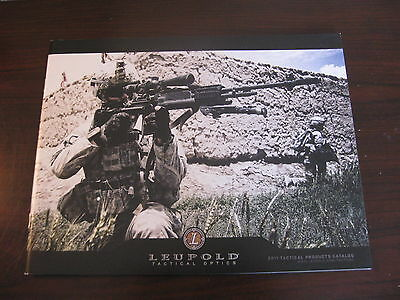 Leupold Tactical Optics Catalog Booklet / 2011 / 53 Pages / New