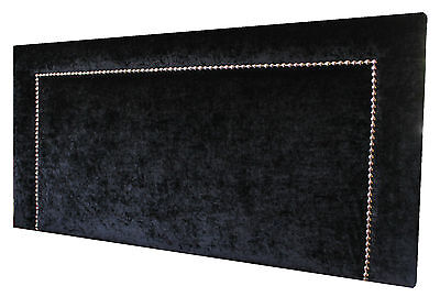 New Bed Head Queen Size Upholstered Studded Bedhead / Headboard Furniture