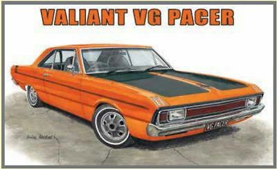 Australian Cars & Transport - Valiant VG Pacer 2 Door Coupe - Tin Sign