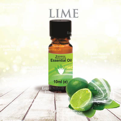 Lime Essential Oil 10ml - 100% Pure - For Aromatherapy & Home Fragrance