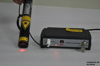 Thorlabs Hrp020-1 Hene Laser 2.0Mw & Reo 32880 Hene Laser Power Supply
