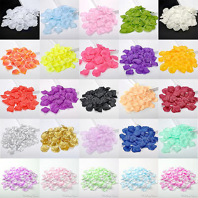 1000pcs Silk Rose Artificia Petals Confetti Flower Wedding Party DIY Decoration