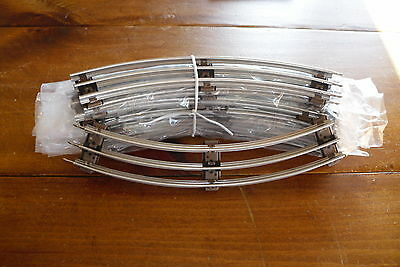 "8 Lionel 27"" Diameter Curved Track (0-27 Gauge) 6-65033 Excellent ++ Condition"