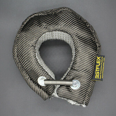 T4 Carbon Fiber Turbo Blanket Heat Shield Barrier 1,849 Degree Temp Rating great