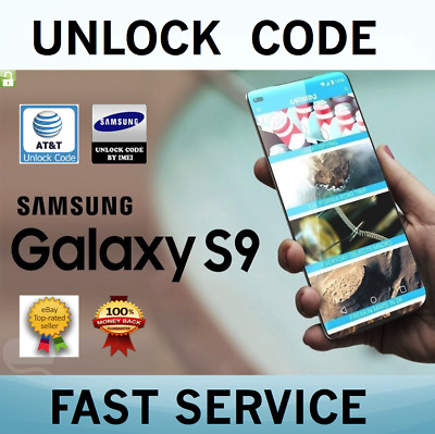 Factory Unlock Codes for Samsung AT&T USA Express Galaxy S9 S8 S7 Edge Note 8 7