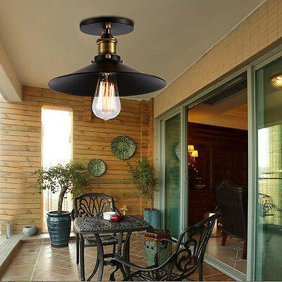 Vintage Industrial Style Hanging Ceiling Light Cafe Bar DIY Corridor Porch Lamps