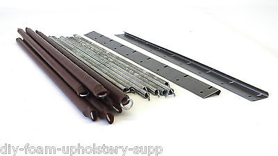 Parker Knoll replacement tension springs & fixing plates. Upholstery supplies