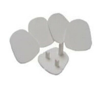 Pack of 5 UK 3 Pin Child Safety Blanking Plug Socket Cover Protecter