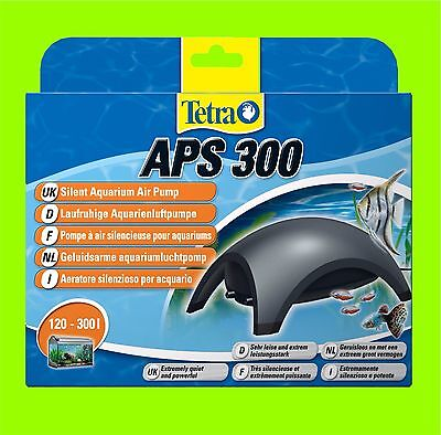 Tetra APS 300 Pompe à air Aquarium très calme Pompe a air pour 120-300l Aquarium
